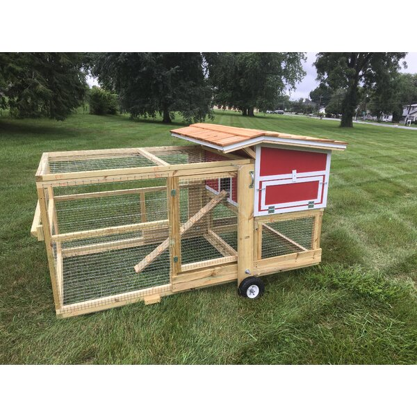 The Bertha Chicken Coop with Nesting Box by Naptown Chickens