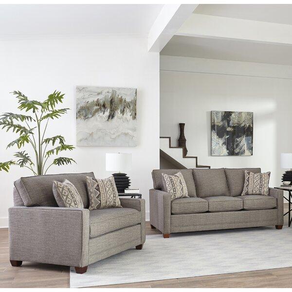 Nedra 2 Piece Living Room Set by Brayden Studio