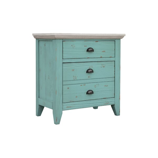 Tristan 2 Drawer Nightstand By Longshore Tides