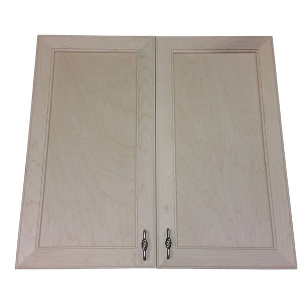 Village 31 W x 31.5 H Recessed Cabinet by WG Wood Products