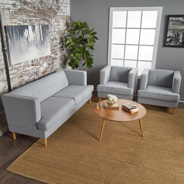 Birchfield 3 Piece Living Room Set By Ivy Bronx