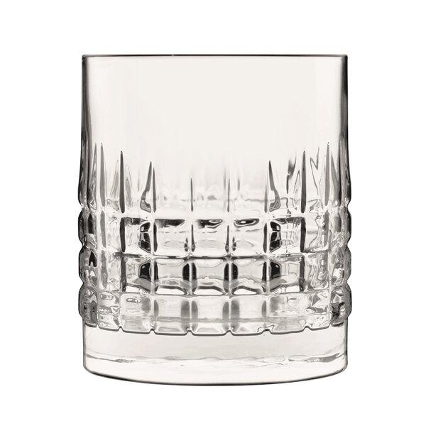 Mixology Charme Double Old Fashioned 12 oz. Glass Cocktail Glasses (Set of 4) by Luigi Bormioli