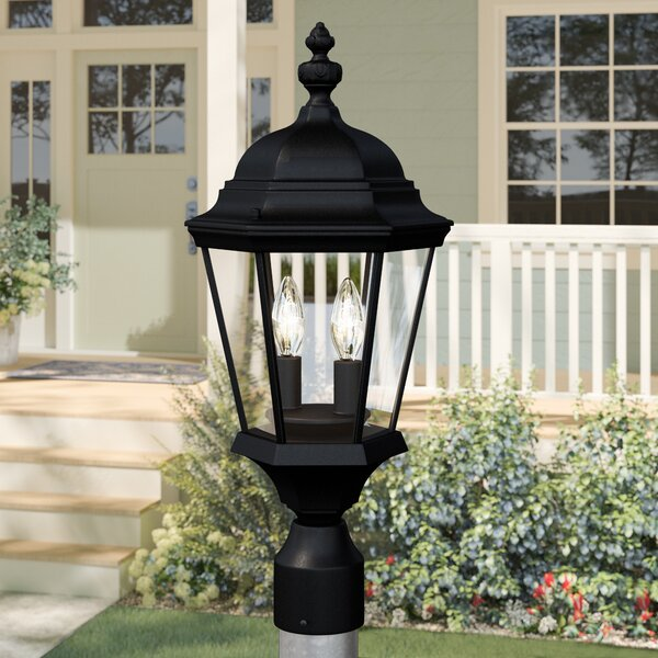 Edgartown Outdoor Post Lantern by Birch Lane™ Heritage