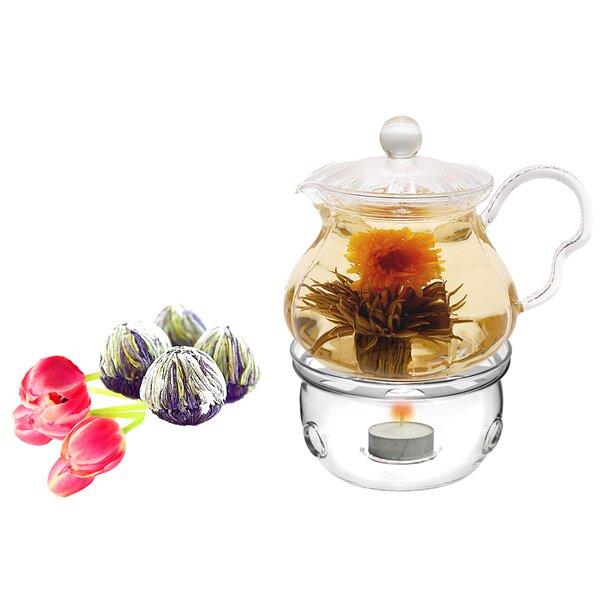 Fairy 0.63-qt. Fab Flowering Teapot by Tea Beyond
