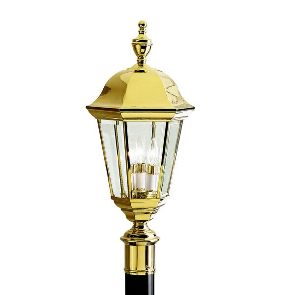 Chisnell Outdoor 3-Light Lantern Head by Astoria Grand