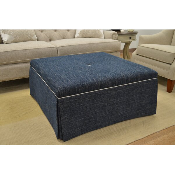 Tufted Cocktail Ottoman by Paula Deen Home