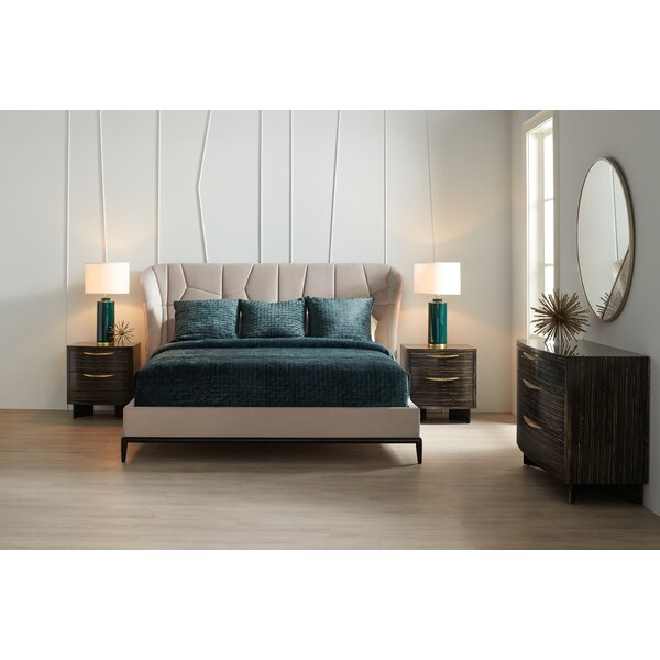 Vector Configurable Platform 3 Piece Bedroom Set by Caracole Modern