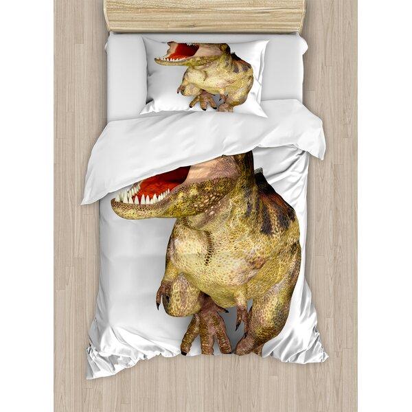 Dinosaur Duvet Cover Set by Ambesonne