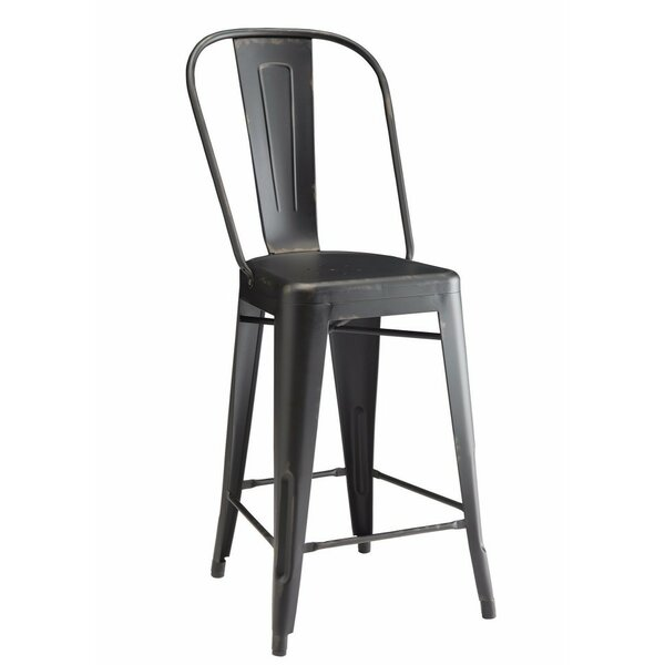 Mckamey Metal Counter Height Dining Chair (Set of 2) by Williston Forge