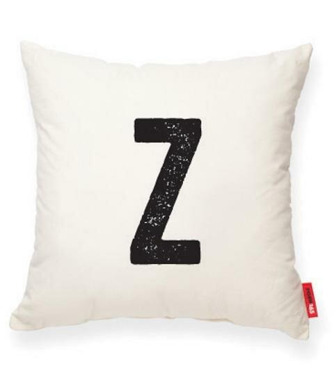 Dolton Letter Z Throw Pillow by Gracie Oaks