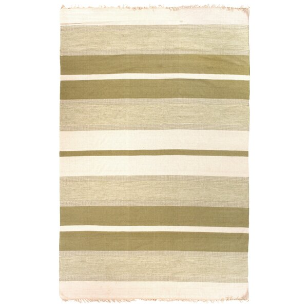 Hand-Woven Beige Area Rug by Exquisite Rugs
