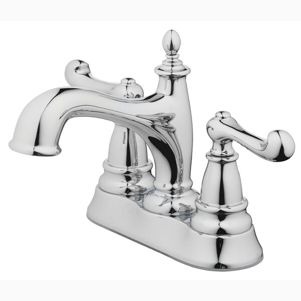 Lavatory Centerset Bathroom Faucet with Drain Assembly