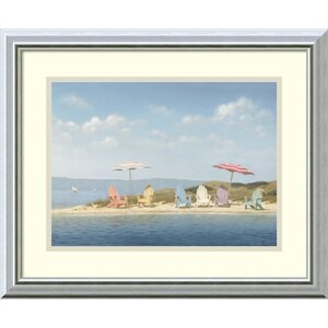 Paradise Heights by Daniel Pollera Framed Painting Print by Highland Dunes