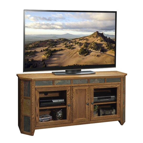 Oak Creek Solid Wood TV Stand For TVs Up To 70