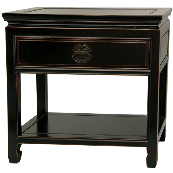 Humphries 1 Drawer Nightstand by World Menagerie