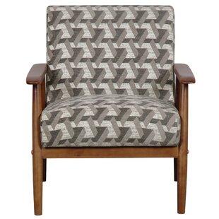 Izabella Wood Frame Armchair