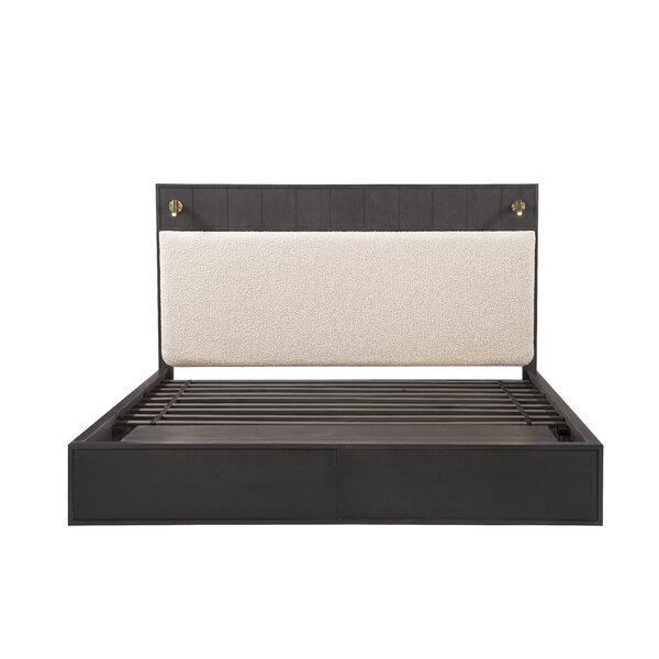Bobby Berk Queen Faber Upholstered Storage Platform Bed by Bobby Berk + A.R.T. Furniture