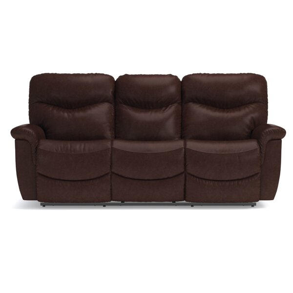 James LA-Z-TIME® Full Reclining 87 Inches Pillow Top Arms Sofa By La-Z-Boy