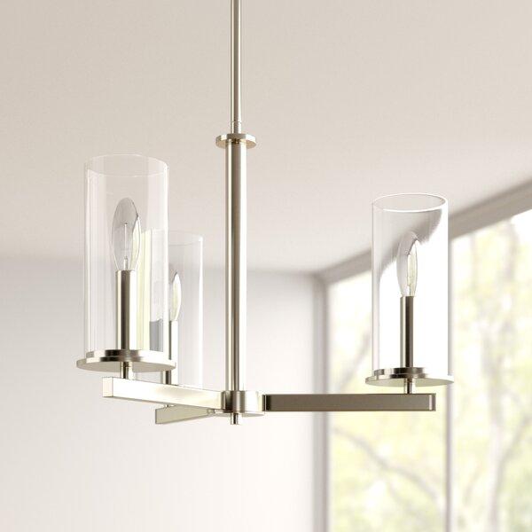 Chelsie 3 - Light Shaded Classic / Traditional Chandelier by Zipcode Design Zipcode Design