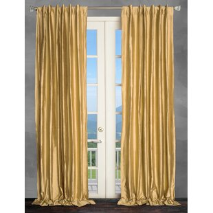 Gold Sequin Curtains