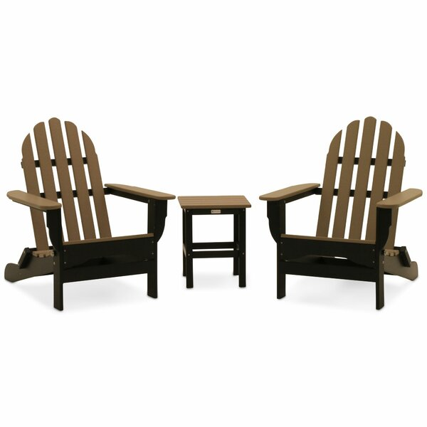 Neligh Adirondack 3 Piece Seating Group by Three Posts
