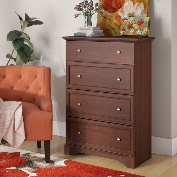 Walworth 4 Drawer Chest by Three Posts