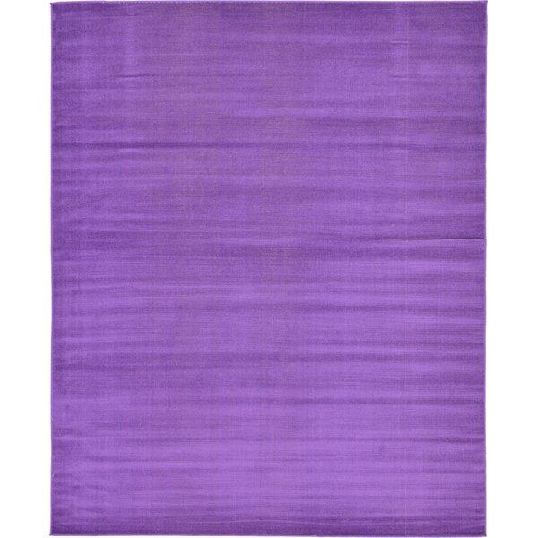 Risley Violet Area Rug by Mercury Row