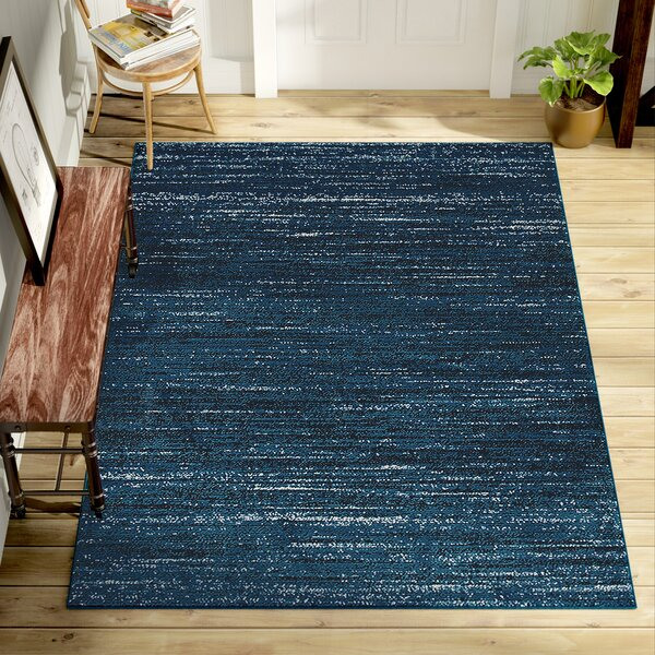 Rockford Power Loom Blue Area Rug by Trent Austin Design