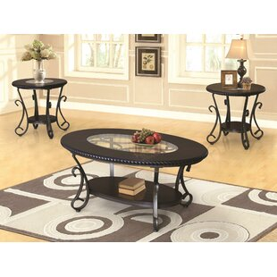 Reviews Cragin 3 Piece Coffee Table Set By Fleur De Lis Living