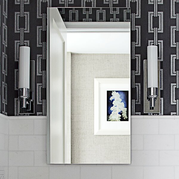M Series 15.25 x 39.38 Recessed Medicine Cabinet by Robern