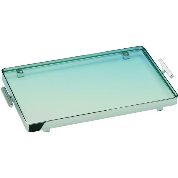 Manna Box Metal Countertop Bathroom Accessory Tray by Latitude Run
