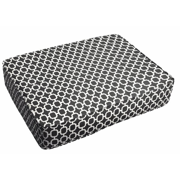 Samantha Chainlink Oudoor Floor Pillow by Latitude Run