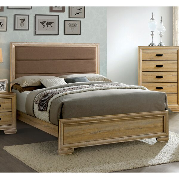 Campbell Upholstered Standard Bed by Union Rustic