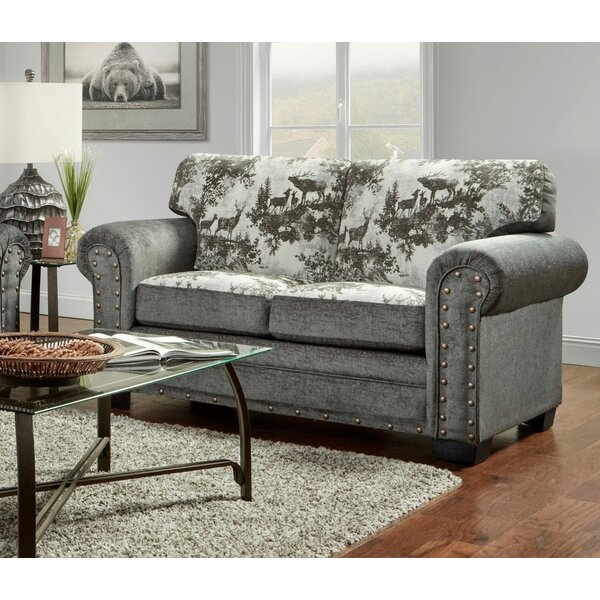 Best Brand Lilly Loveseat by Millwood Pines by Millwood Pines