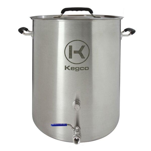 3 Piece 10 Gallon Brew Kettle Set by Kegco