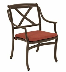 BelMar Stacking Patio Dining Chair By Tropitone