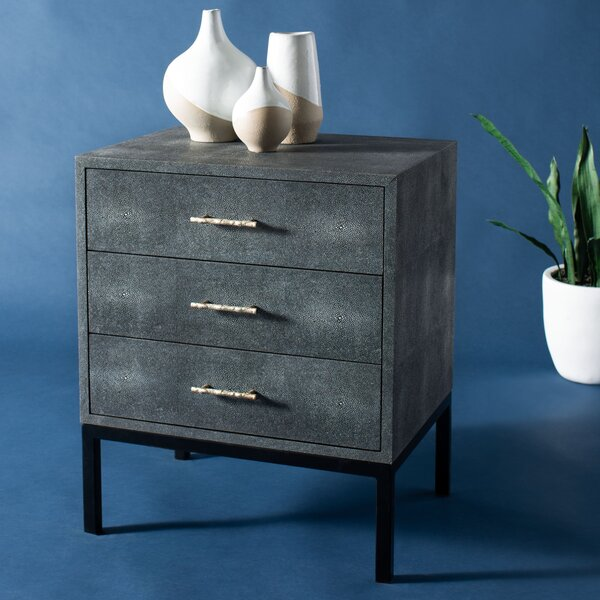 Shagreen Accent Chest By Mercer41