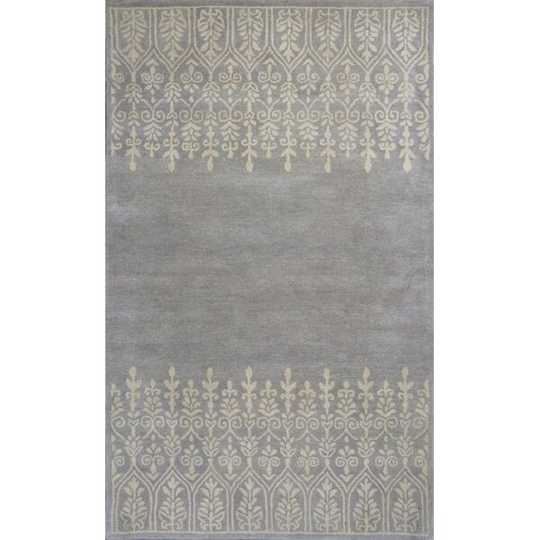 Harmony Hand-Woven Wool Gray Area Rug by Donny Osmond Home