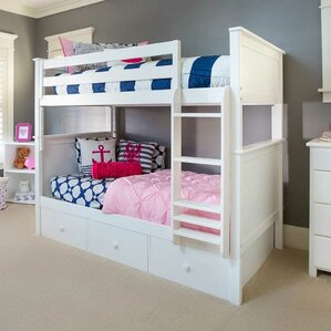 Bunk Bed with 3 Storage Drawer