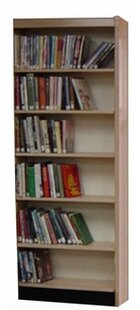 Open Back Single Face Standard Bookcase W.C. Heller