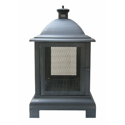 Natural Gas & Wood Burning Outdoor Fireplaces You'll Love ... on Quillen Steel Wood Burning Outdoor Fireplace id=40273