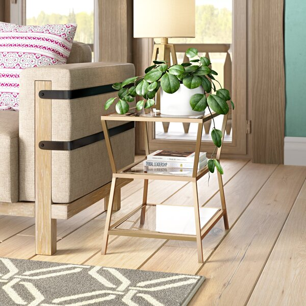 Lowestoft End Table By Three Posts