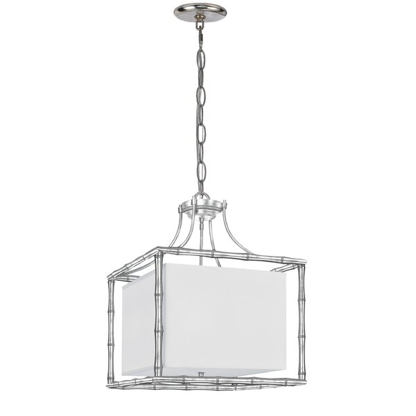 Weir 4-Light Pendant by Bay Isle Home