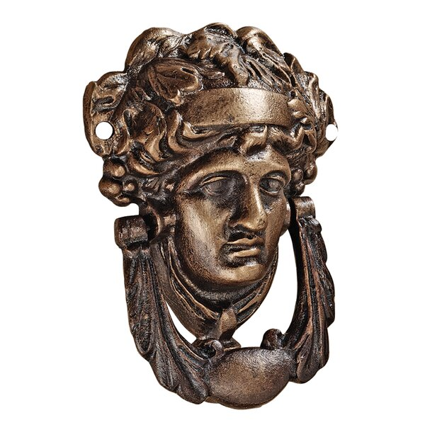 Athena Authentic Foundry Door Knocker by Design Toscano