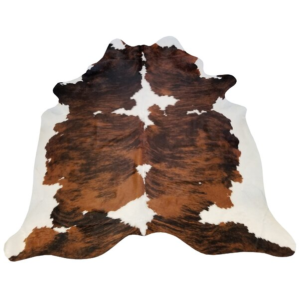 Brindle Extra Large Brazilian Cowhide Area Rug by Chesterfield Leather