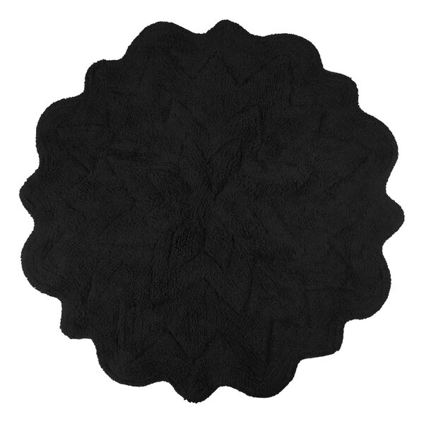 Over Tufted Petals Bath Rug by Sherry Kline