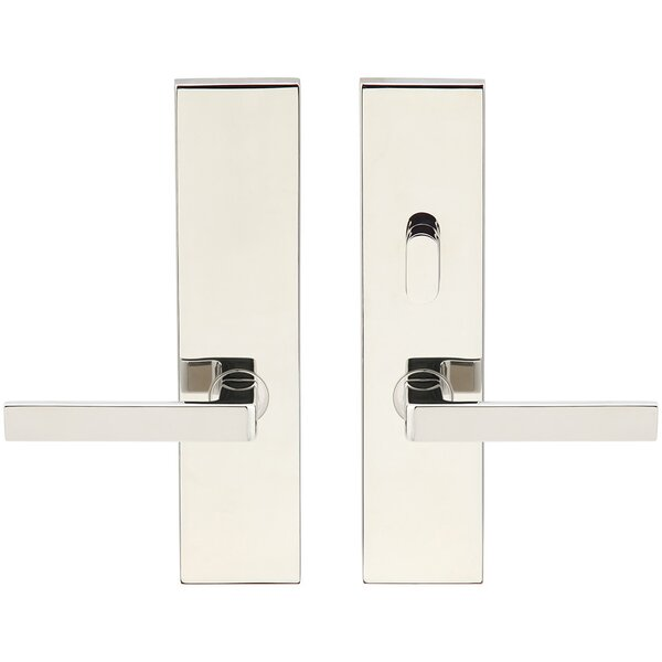 Tokyo Double Cylinder Mortise Handleset by INOX®