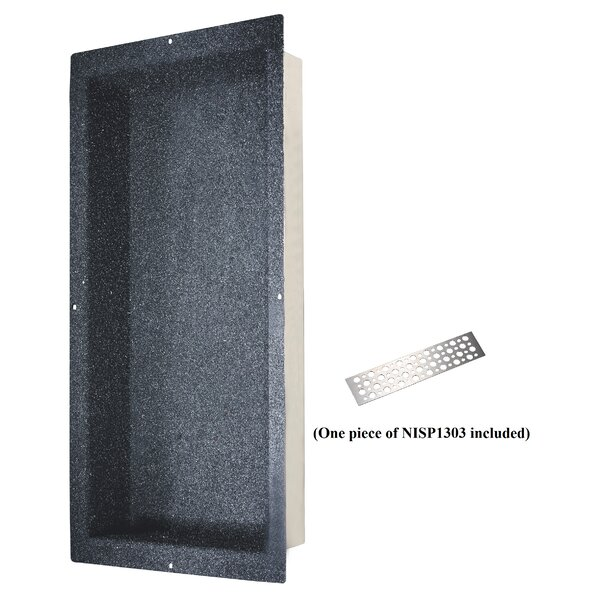 Shower Niche with Support Plate by Dawn USA