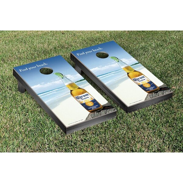NCAA Corona Find Your Beach Version Cornhole Game Set by Victory Tailgate