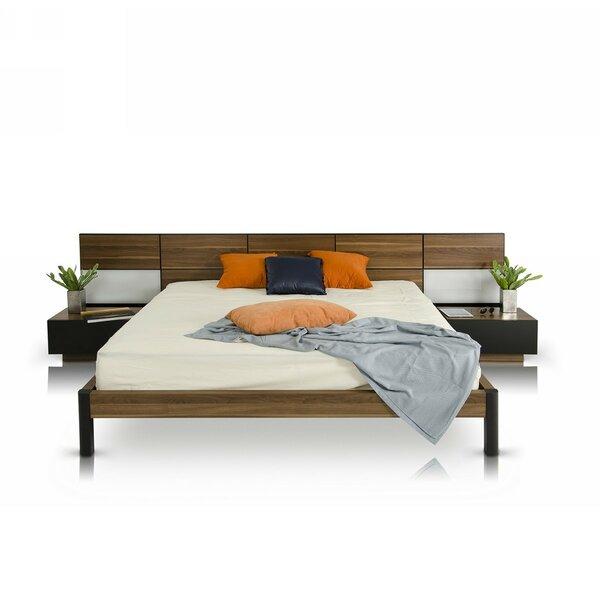 Carstarphen Modern California King Storage Panel Bed by Brayden Studio